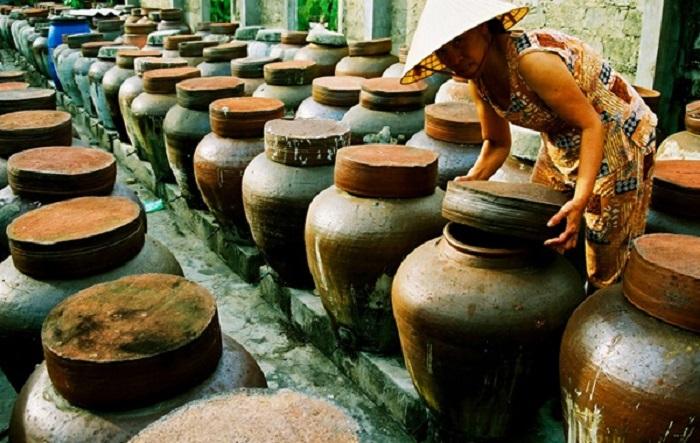 Những chum mắm lẹp của nghệ nhân Quảng Bình