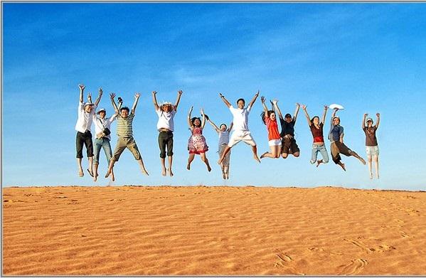 Check in sống ảo ở cồn cát Quang Phú