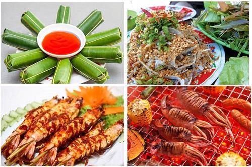 Đặc sản biển Sầm Sơn