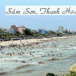 Chiêm ngưỡng vẻ đẹp thơ mộng của biển Sầm Sơn